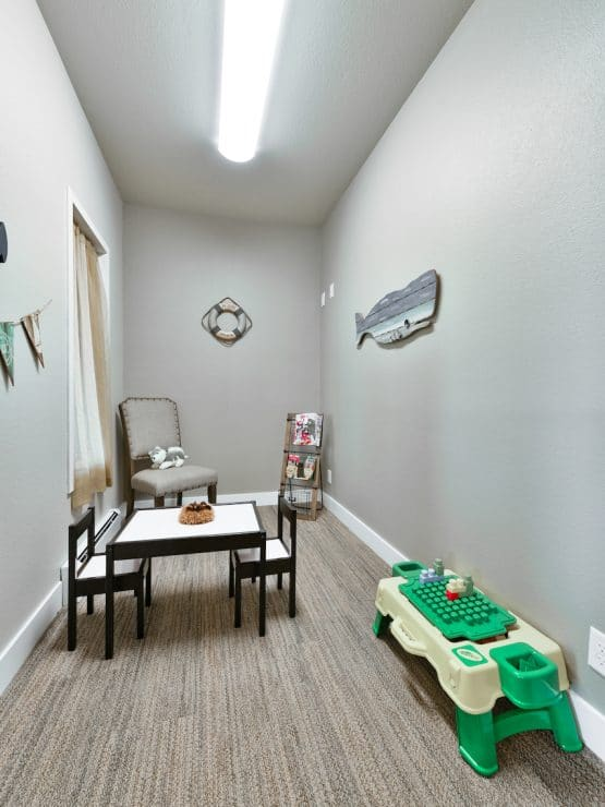 Schaffner Family Dental. Fort Collins Dental Office. Family Friendly Kids Room.