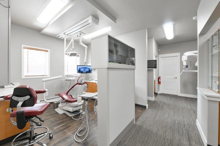 Schaffner Family Dental. Modern operatory with Digital X-rays.