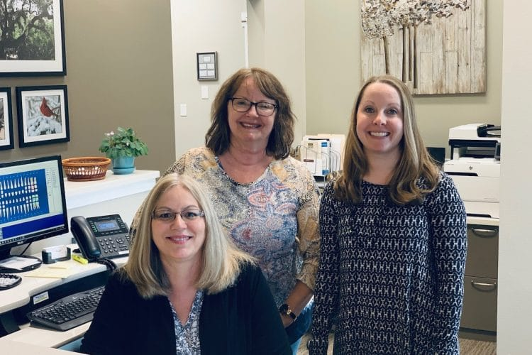 Schaffner Family Dental. Fort Collins Dental Office. Family Friendly and Caring Team. Front Office Staff.